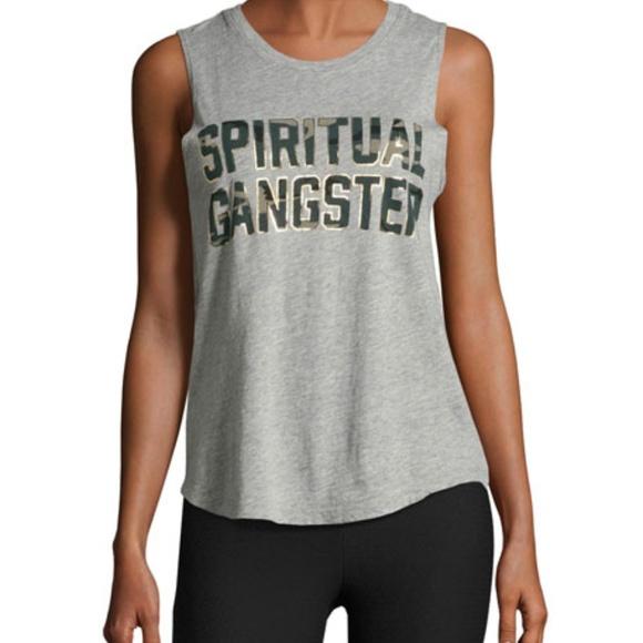 51beca36d3ac5 Spiritual Gangster grey and camo tank. M_5a458cdf331627454b0ede0b